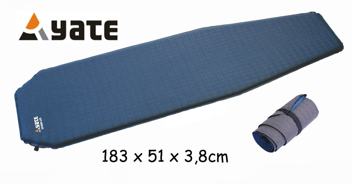 Yate Outdoor selbstaufblasende Isomatte Isomatte selbstaufblasende Extrem Lite 3,8cm