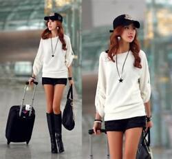 Super schönes Longshirt Shirt Oberteil Bluse Gr. S bis XXL Japan Style