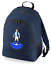 Football-TEAM-KIT-COLOURS-Blackburn-Supporter-unisex-backpack-rucksack-bag miniatuur 3