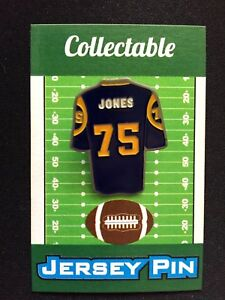699d4f8495a Los Angeles Rams Deacon Jones jersey lapel pin-Classic Collectable ...