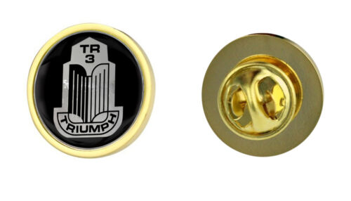 Triumph TR3 Grille Logo Clutch Pin Badge Choice of Gold//Silver