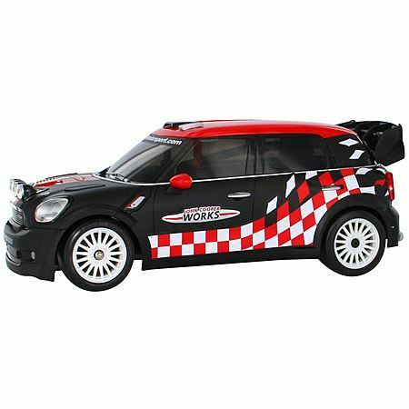 Nikko 1:16 Radio Control Mini John Cooper Works WRC Brand new