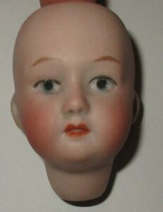 Beautiful-Antique-Germany-Gebruder-Heubach-Bisque-Doll-Head-2-1-8-034-Signed