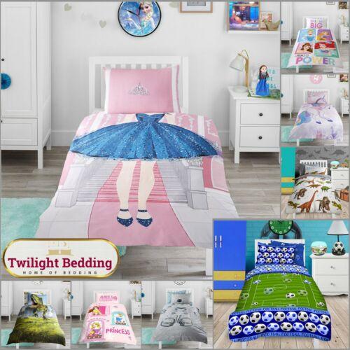 Kids Duvet Cover Pillowcase Junior, Twilight Bedding Set