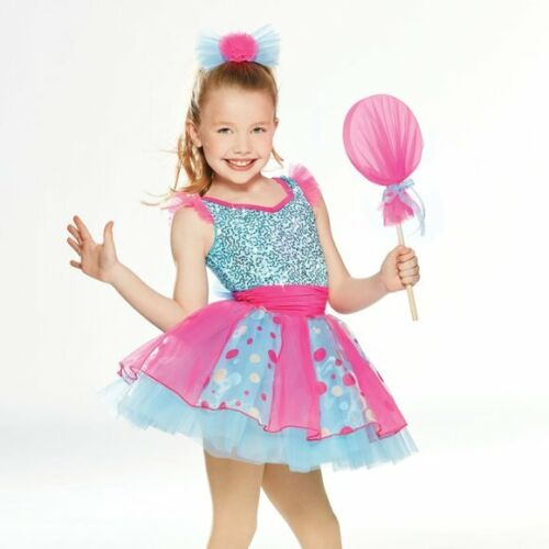 BALLET DANCE COSTUME SUGAR AND SPICE CANDY