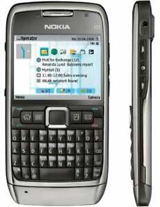 Makelloser Zustand Entsperrt Nokia e71 Bar Phone QWERT Keypad 3g WIFI Mobile