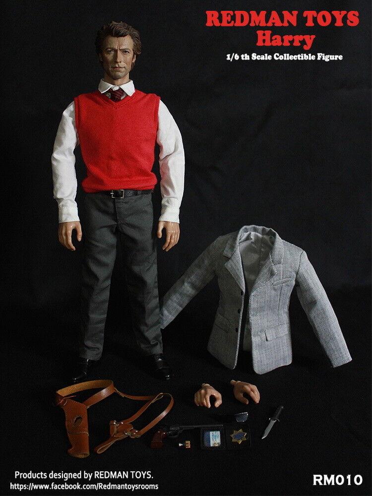 ROTMAN TOYS RM010 1/6th Inspector harry Dirty Harry (1971) Male Figure Model