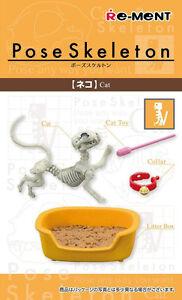 Re-Ment-Pose-Skeleton-Cat-Skeletal-Figure-Not-Included