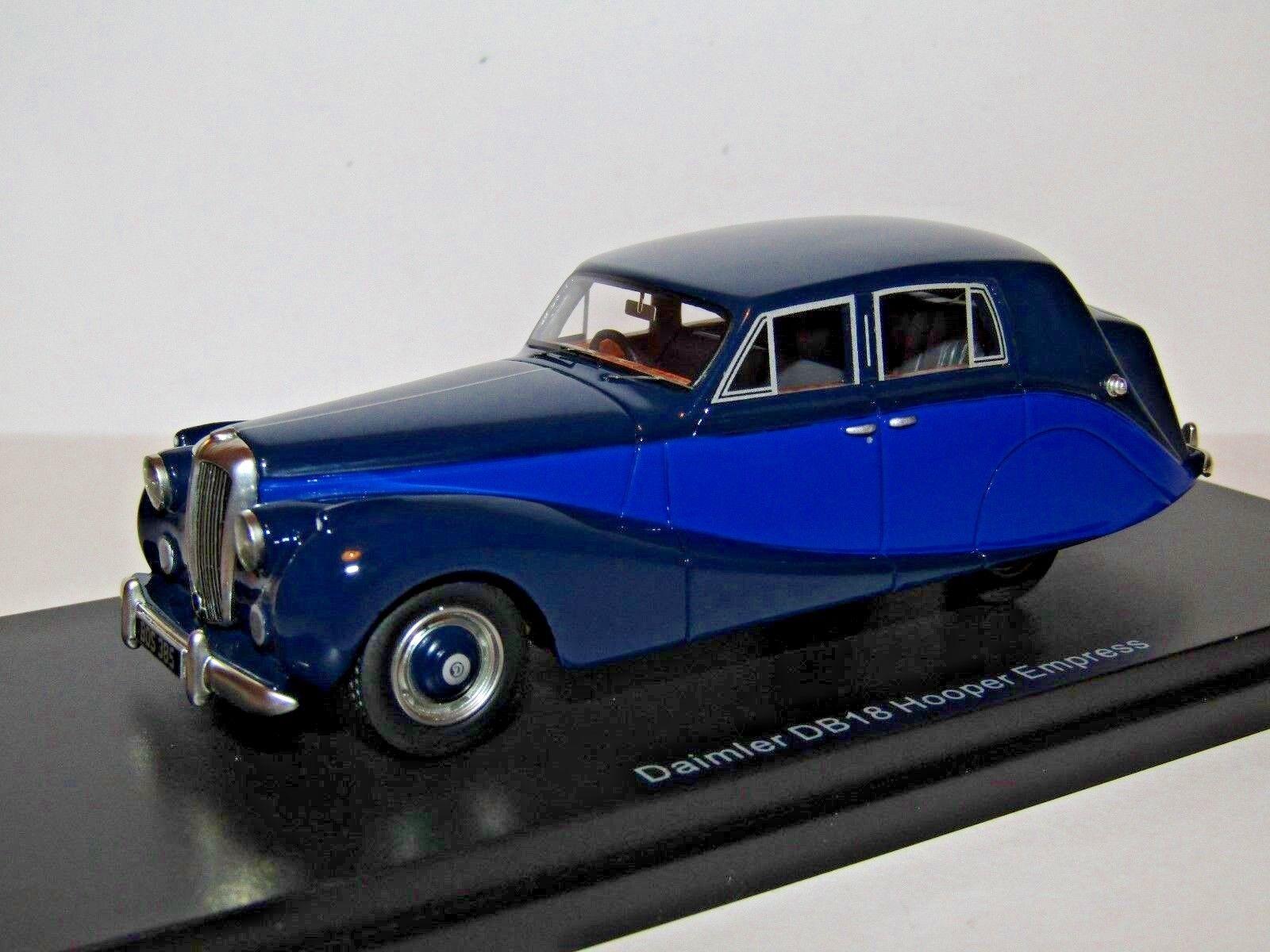 BOS DAIMLER DB18 HOOPER EMPRESS blueE DARK blueE 1 43 RESIN BOS43385 BEST OF SHOW