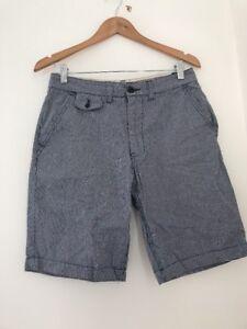 Kleidung & Accessoires Men's Shorts Size 30 F&f Blue Check Summer <jj2787 Geschickte Herstellung Shorts & Bermudas