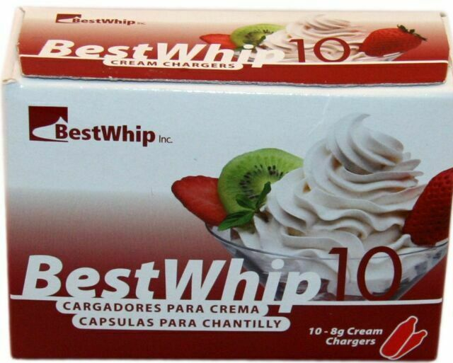 Bestwhip N2o 8 Gram Whipped Cream Chargers For Sale Online Ebay