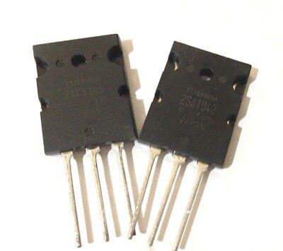 2SA1943 Toshiba NPN+PNP TransistorFREE US Shipping 10 Pairs2SC5200