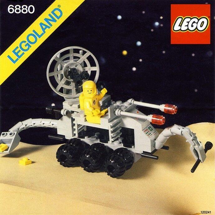 Lego Klassisch Weltall 6880 Oberfläche Explorer Neu Ovp Legoland 604m
