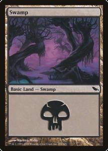 20x Shadowmoor SWAMP #291 Same Art Basic Land NM/LP MTG Magic the Gathering