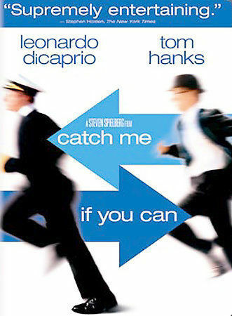 1 of 1 - Catch Me If You Can (DVD, 2003, 2-Disc Set, Widescreen) Discs Only-Free Shipping