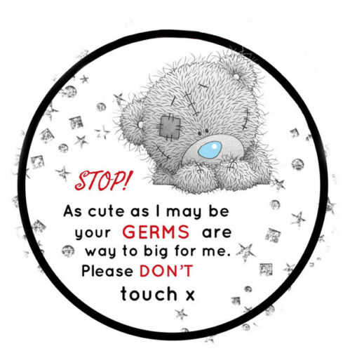 Baby Do Not Touch Germ Pram Sign
