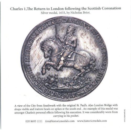 The Return to London following Scottish Coronation Charles 1  Greeting Card