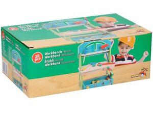 Banc de Travail Jouet en Bois Pour Enfants Marionnettes Wooden Toys