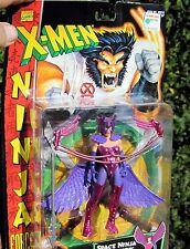 1996 TOY BIZ  Marvel Comics X-Men Ninja Force Space Ninja Deathbird W/Wings MOC
