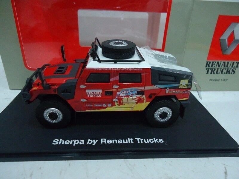 ELIGOR 113874 Renault Sherpa rally Paris dakar 2008 1 43 renault trucks