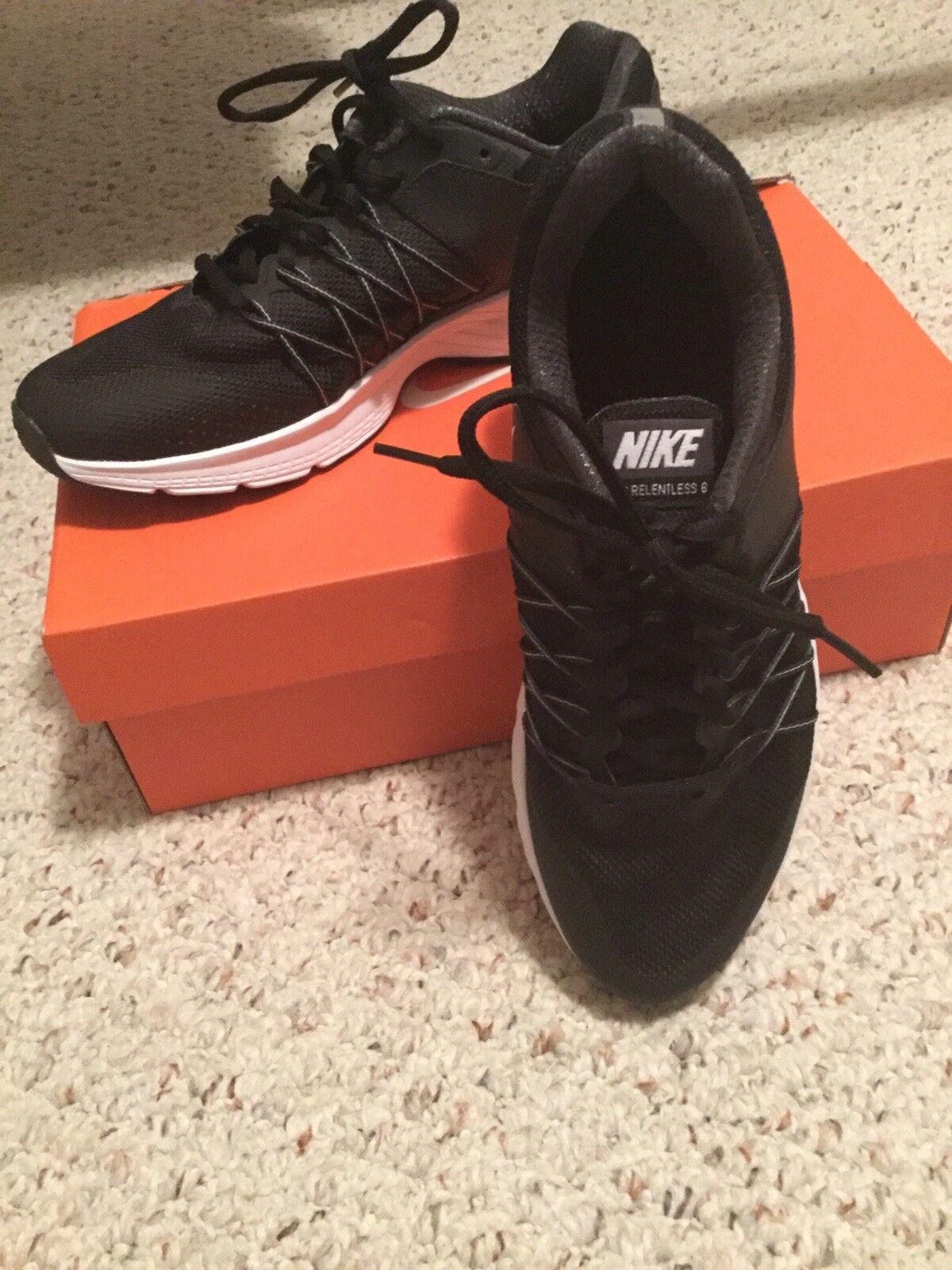 Nike flex oberste tr 5 für frauen 8,5 verkauf schwarz & Weiß cross - training, laufen