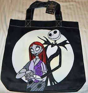 Tim Burton Nightmare Before Christmas Jack And Sally.Details About New Tim Burton Nightmare Before Christmas Jack Sally Tote Bag 2 Sided