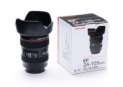 Caniam Camera Lens Shaped 24-105mm Hot/Cold Coffee Tea Cup Mug,Thermos Caniam SM