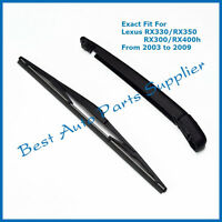 Rear Wiper Arm With Blade Set For Lexus Rx300/rx330/rx350/rx400h 2003-2009