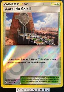 Carte-Pokemon-AUTEL-DU-SOLEIL-118-145-REVERSE-Soleil-et-Lune-2-SL2-FR-NEUF