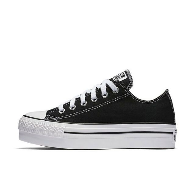 Converse Women's Chuck Taylor All Star Platform Ox Black 7.5 US 540266f