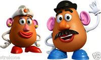 Walt Disney Pixar Toy Story Mr. & Mrs. POTATO HEAD - Window Art Stick-On Cling