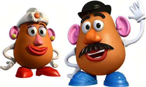 Walt-Disney-Pixar-Toy-Story-Mr-amp-Mrs-POTATO-HEAD-Window-Art-Stick-On-Cling