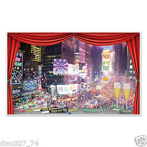 Image Is Loading NEW YEAR 039 S EVE Party Decoration Wall  Part 59
