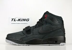newest 996f9 aaa0e Image is loading Nike-Air-Jordan-Legacy-312-Elephant-Print-Black-