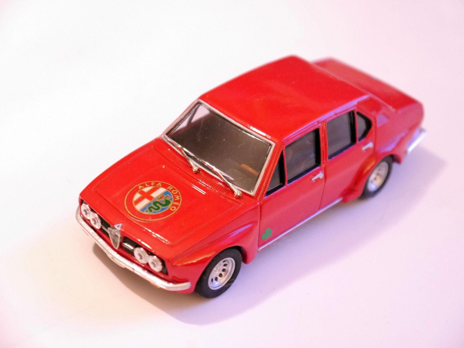Alfa Romeo Alfetta Berline Saloon Evolution Evo Street, Progetto dans 1 43