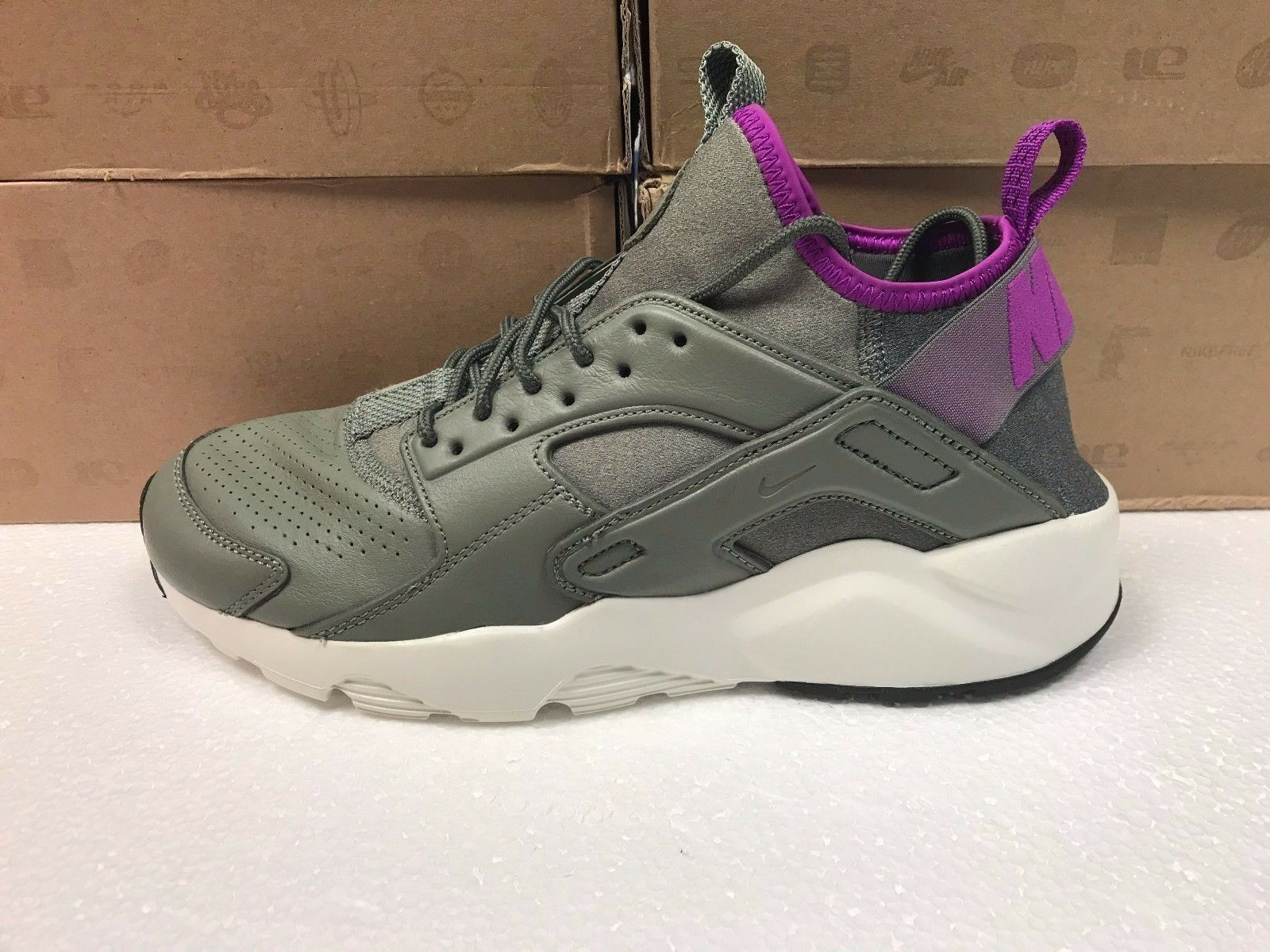 NEW MENS NIKE AIR HUARACHE RUN ULTRA SE SNEAKERS-SHOES RUNNING-875841 003-SIZE 9