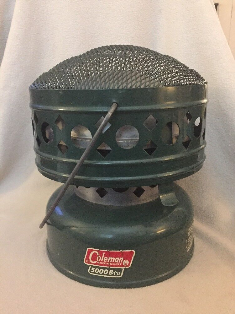 Vintage Coleman Model  511 A 5000 Btu Catalytic Heater Made in USA  on sale