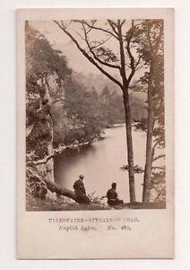 Vintage-CDV-Ullswater-Stybarrow-Crag-Cumbria-England-Manchester-Photo-Co