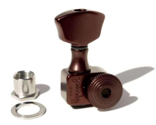 Sperzel Trim-Lok 3x3 Dark Bronze locking tuners