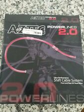 Aztec Powerlines 2.0 Shift Cable System for CAMPAGNOLO Red NEW