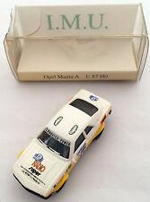 I.M.U. 1:87 / H0 Opel Manta A Nr47 'gelb-weiß'