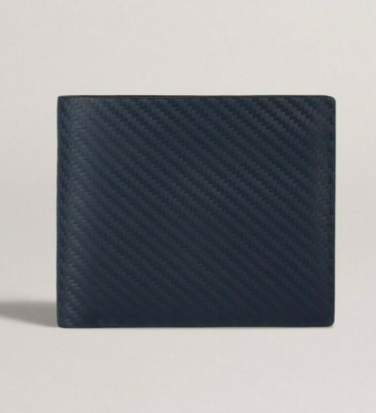 Dunhill Billfold Chassis Wallet Made In Italy New Gift