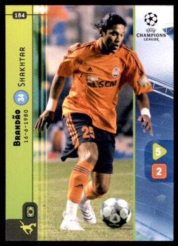 Shakhtar Nº 184 Panini Liga de Campeones 08//09 Tarjeta-Brandao
