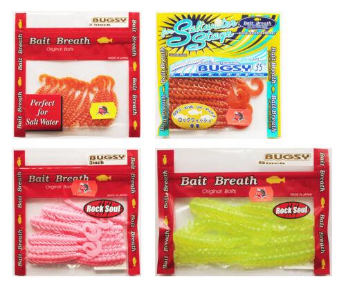 Bait Breath Bugsy Soft Plastic Baits Lures
