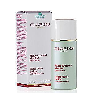 clarins hydra matte lotion
