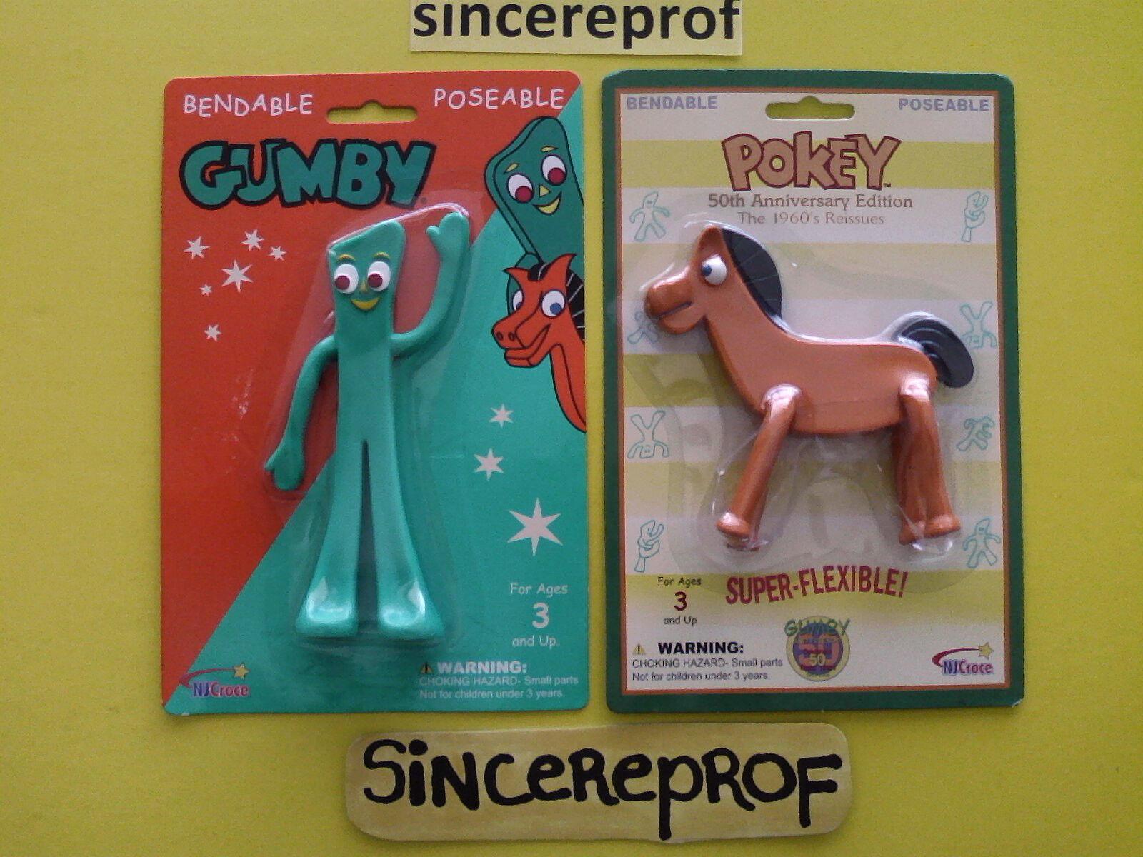 Gumby Pokey juguetes nuevos Antigua Coleccionable Para Niños Niño Niña Niña Niña Cumpleaños Regalo Bonito   Venta barata