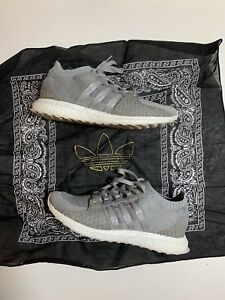 dc8a6086d3a992 Adidas x Pusha T EQT Support Ultra Boost PK Stone Grey White Size 10 ...