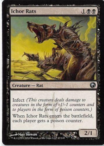Ichor Rats *Uncommon* Magic MtG x1 Scars of Mirrodin SP
