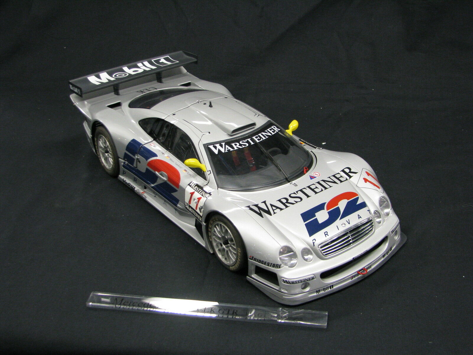 bilkonst Mercedes -Benz CLK GTR 1997 1 12 Wurz  Ludwig  Schneider FIA GT (JS)