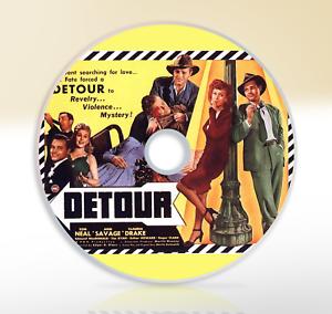 Detour-1945-DVD-Crime-Drama-Film-Noir-Movie-Tom-Neal-Ann-Savage